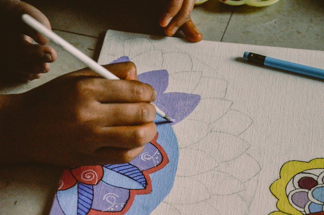 aquarela, arte, artes aplicadas