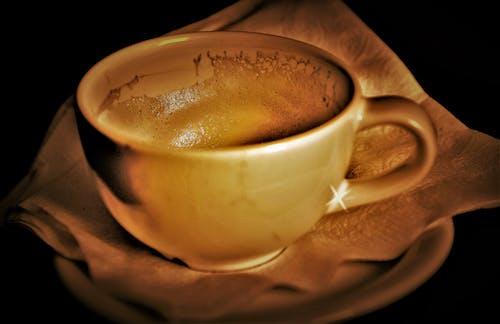 Imagine de stoc gratuită din cană de cafea, cupa de aur