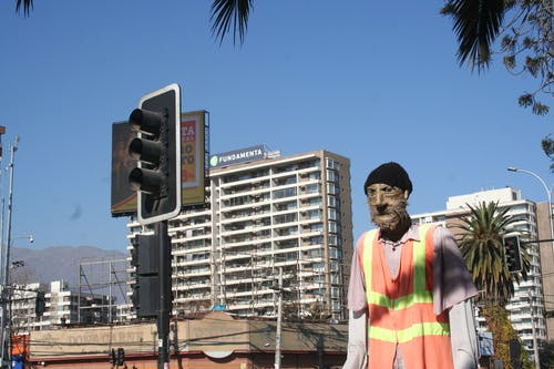 Free stock photo of chile, puppet, street, street art