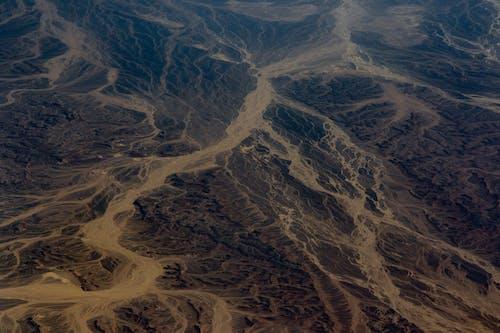 Бесплатное стоковое фото с Аэрофотосъемка, воздушная съемка, геология, гора