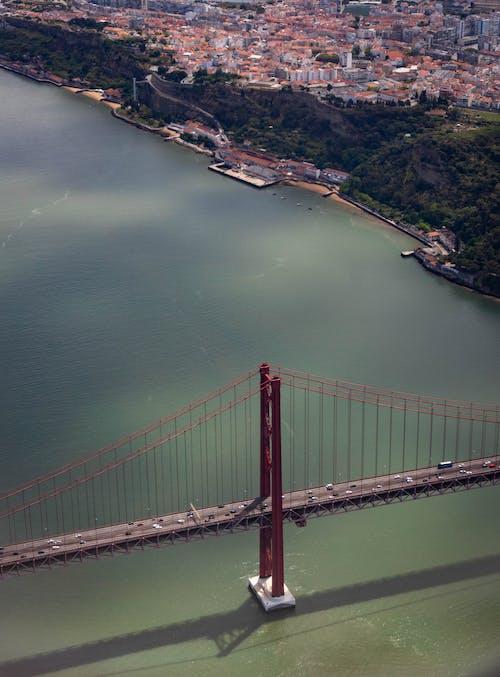Ingyenes stockfotó építészet, folyó, függőhíd, híd témában