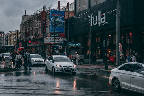 감기, 구름, 바쁜 거리의 무료 스톡 사진