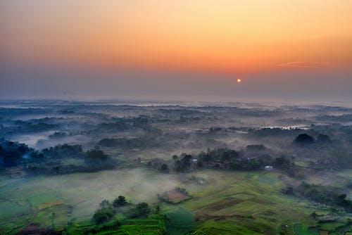 Fotos de stock gratuitas de aéreo, agua, al aire libre, amanecer