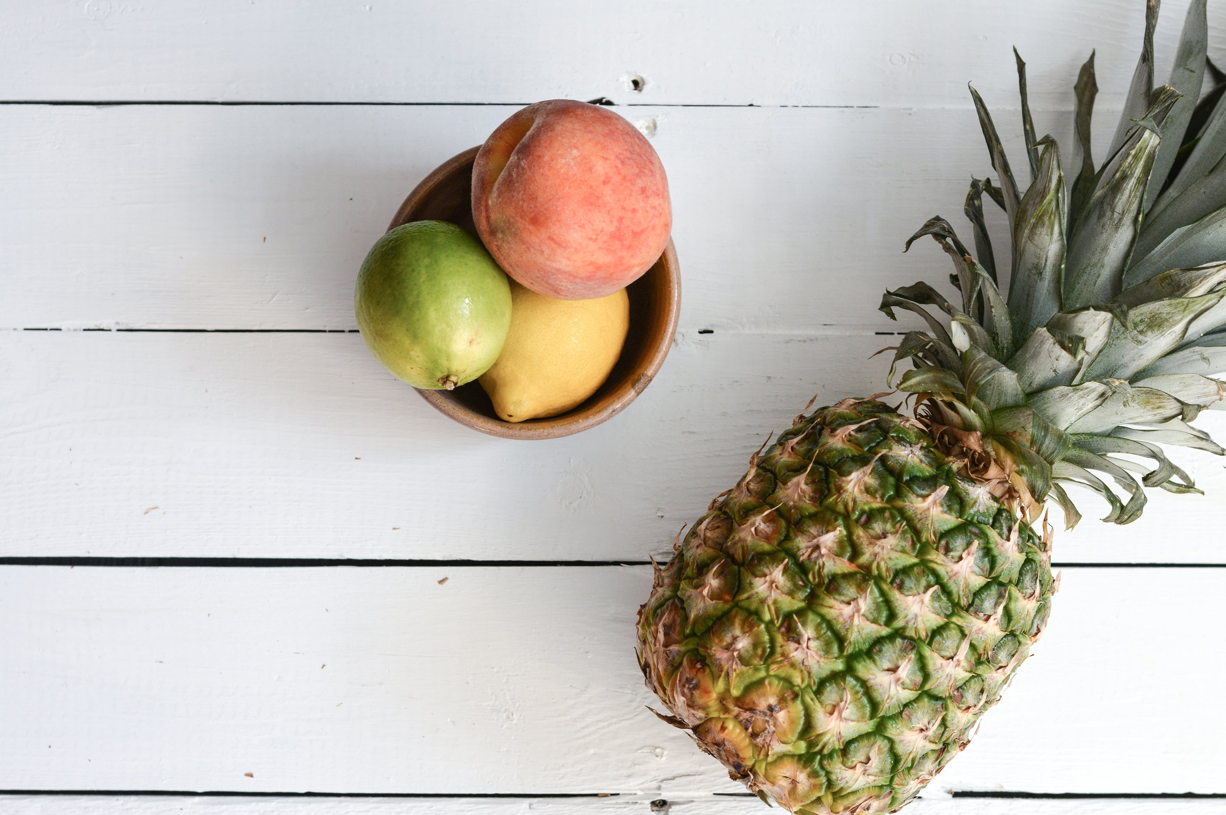 Fruits on Wood