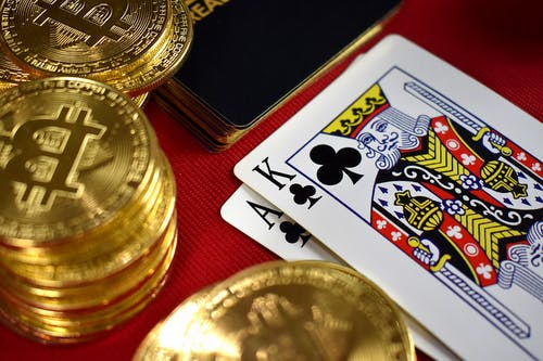 Free stock photo of ace, bitcoin, cards