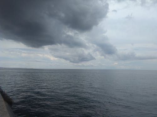 Free stock photo of by the sea, cloud, cloudy