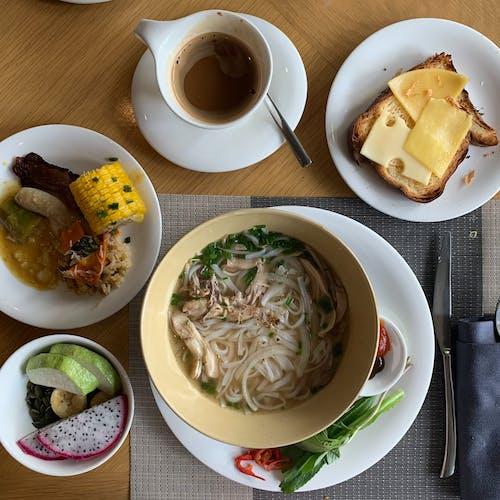 アジア人, アジア料理, フォー, フードの無料の写真素材