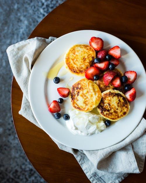 可口的, 早餐, 水果, 漿果 的 免费素材照片