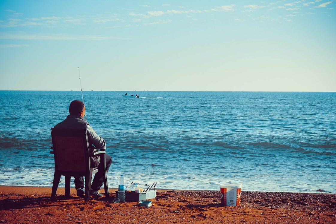 angeln, fischen, landschaft