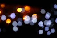 light, lights, blur
