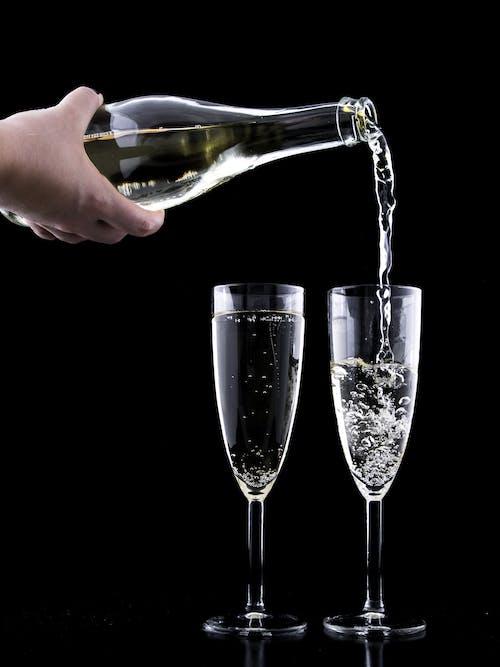 Kostnadsfri bild av alkohol, årsdag, bakgrund, champagne