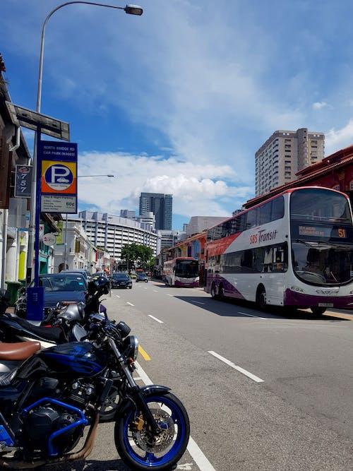 Imagine de stoc gratuită din drum, localitate, mașină stradală, Singapore