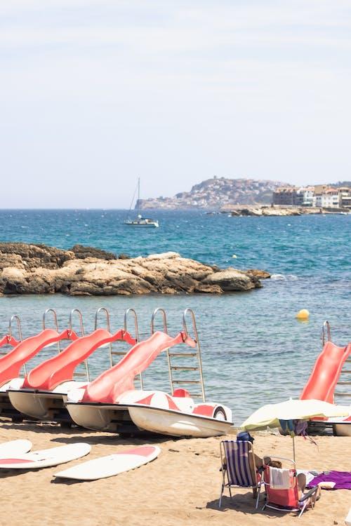 คลังภาพถ่ายฟรี ของ costa brava, españa, faceless, playa