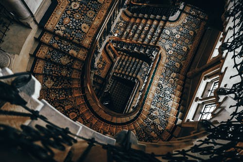 Architectural Photography of Stairs