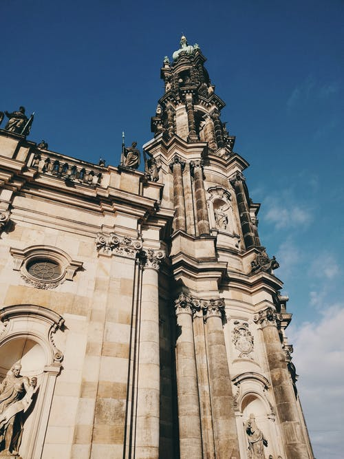 Almanya, antik, bina, dar açılı çekim içeren Ücretsiz stok fotoğraf