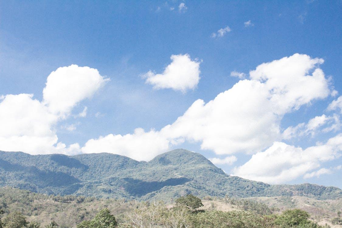 alam, awan, biru