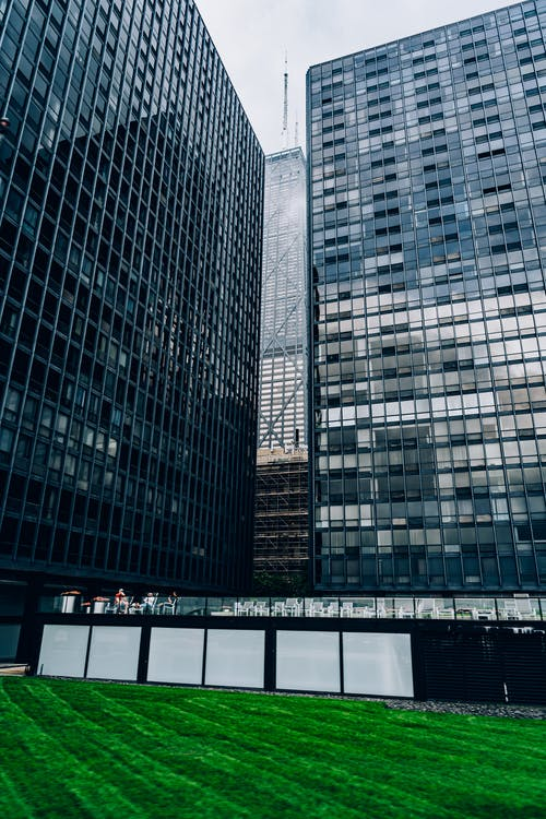 Photo of Glass Buildings