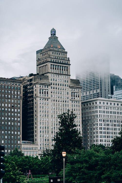 Kostnadsfri bild av arkitektur, byggnader, byggnadsexteriör, dimma