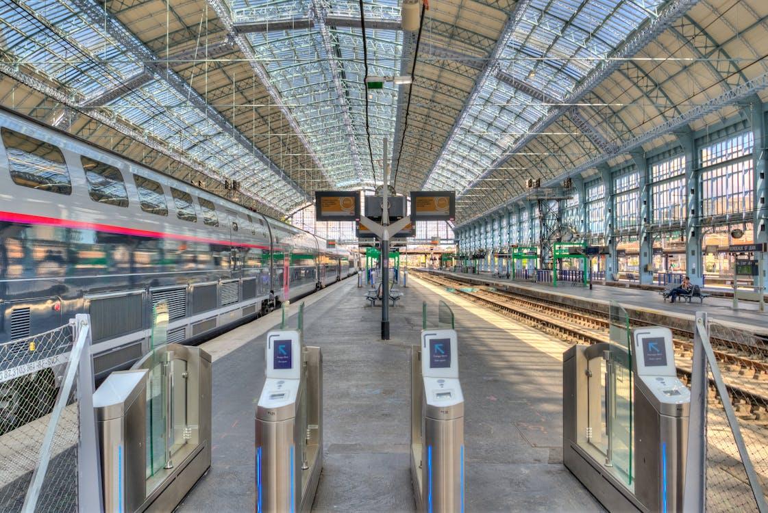 железная дорога, железнодорожная станция, локомотив