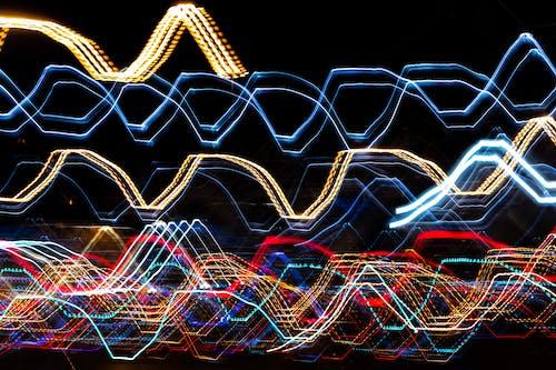 Kostnadsfri bild av lampor, lång exponering, lätta strimmor