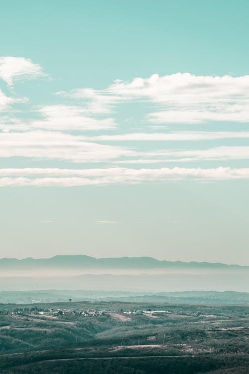 Foto profissional grátis de agricultura, área, aventura, azul