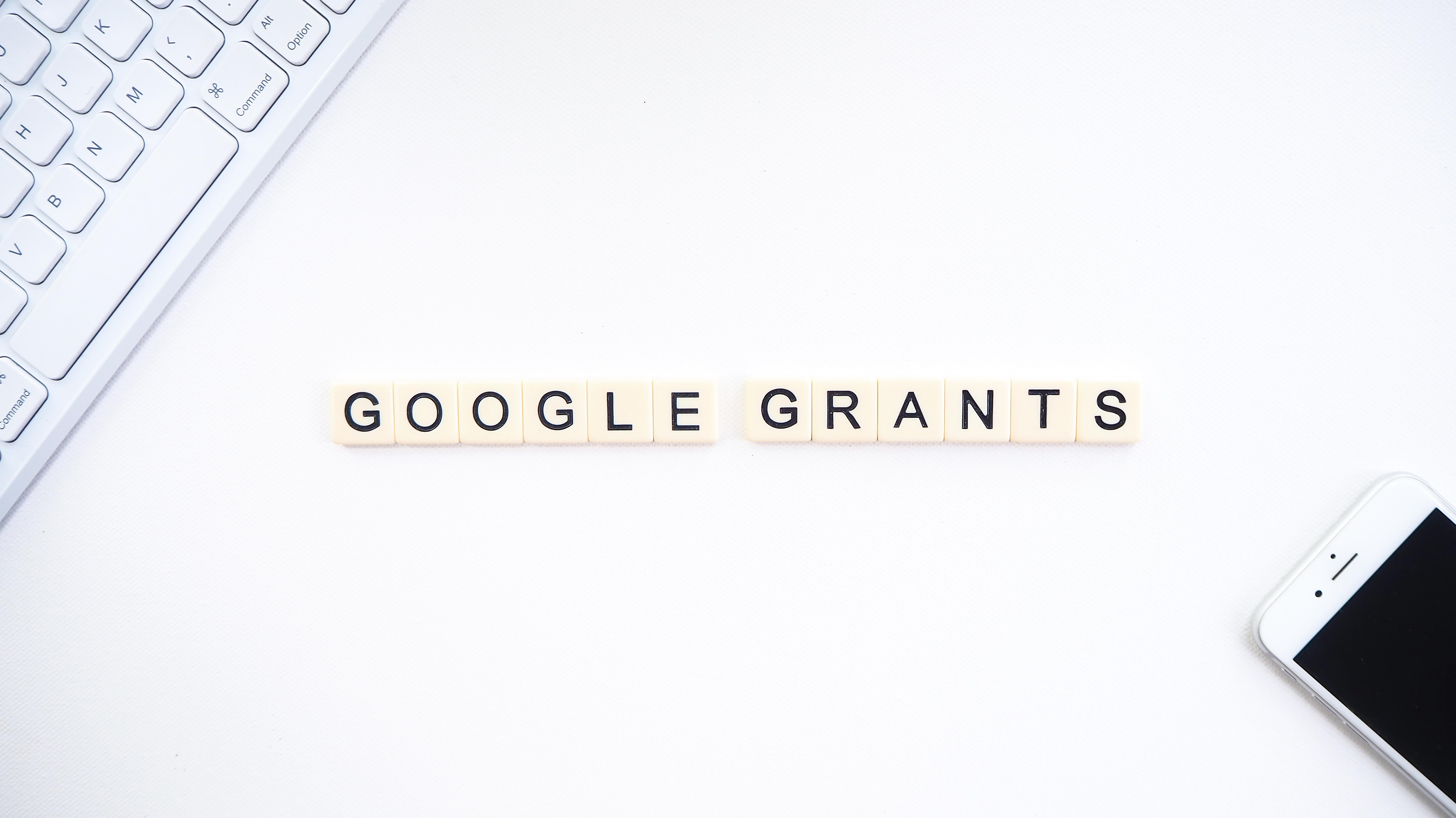 Google Grants Text