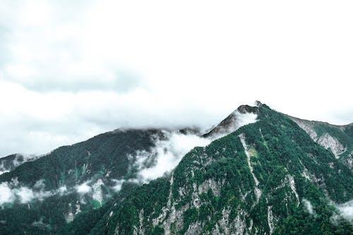 Montanhas E Nuvens Verdes