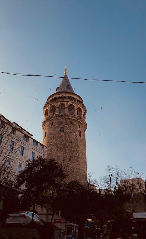 Kostenloses Stock Foto zu #galata, #galatakulesi, #istanbul