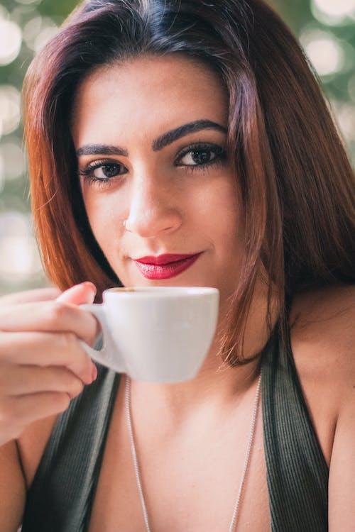 人, 咖啡, 喝, 女人 的 免費圖庫相片