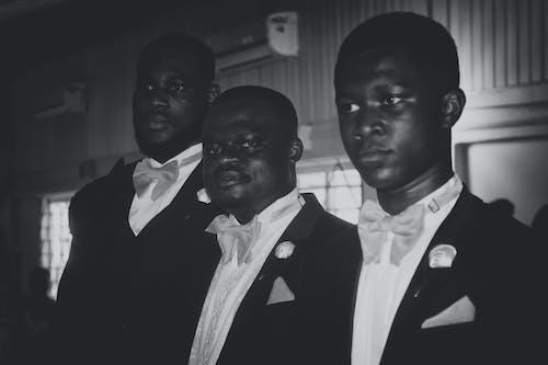 Gratis stockfoto met mannen in zwart