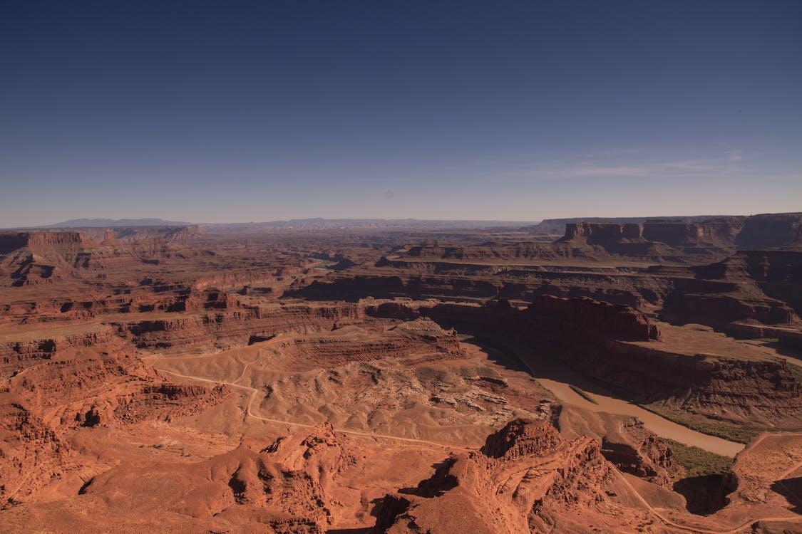 canyon, dürr, erosion