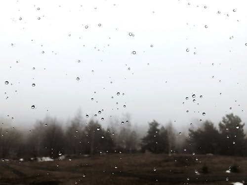 Kostenloses Stock Foto zu fenster, nass, nebel, neblig