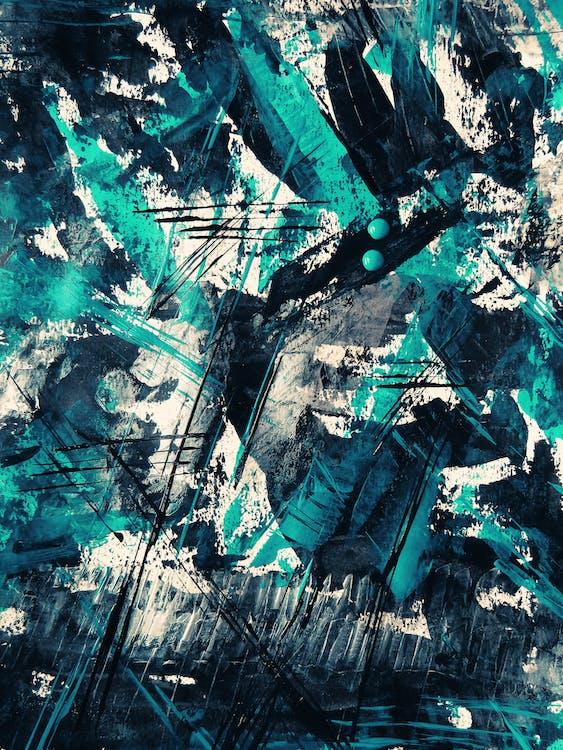 abstrakt, abstrakt ekspressionisme, abstrakt maleri