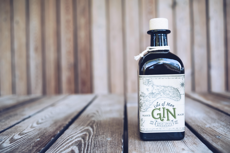 Isle of Mon Gin Bottle