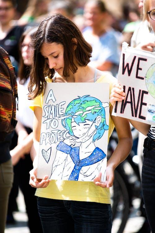 activist, background, climate activist