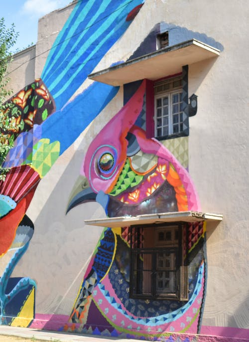 Imagine de stoc gratuită din artă, artă stradală, artist, Delhi