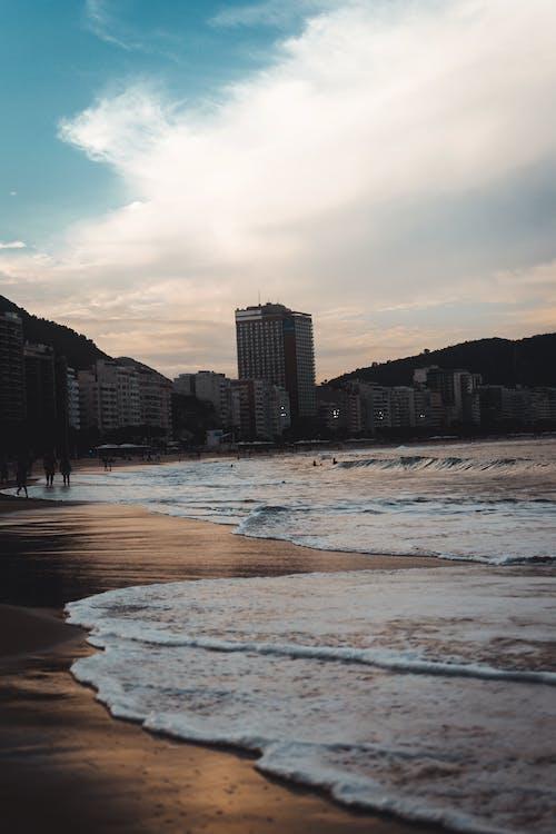 Immagine gratuita di copacabana, fotografia, praia, rio de janeiro