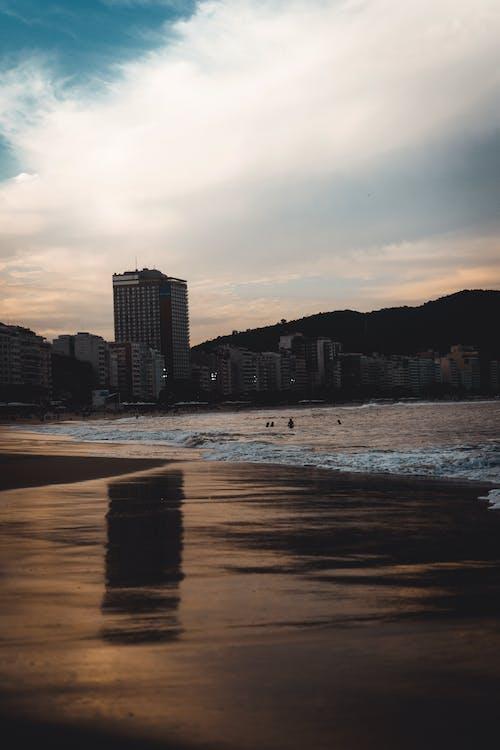 Immagine gratuita di cidade, fotografia, praia, sfondo
