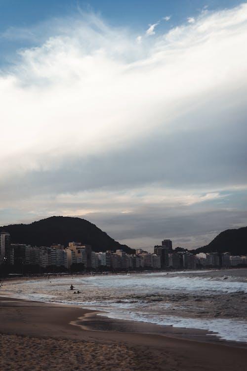 Darmowe zdjęcie z galerii z morze, ocean, pejzaż morski, piasek
