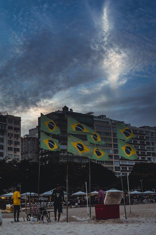Immagine gratuita di bandeira, cidade