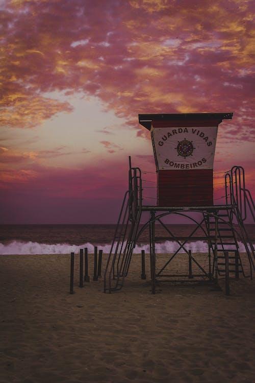 Immagine gratuita di alba, bagnasciuga, brasile, crepuscolo