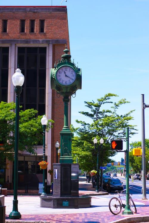 Fotobanka sbezplatnými fotkami na tému dauphin kraj, hodiny, námestie, pennsylvania
