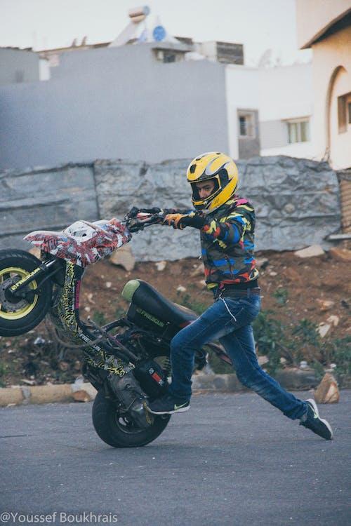 cabrage, casablanca, stunter, 小型摩托車 的 免費圖庫相片