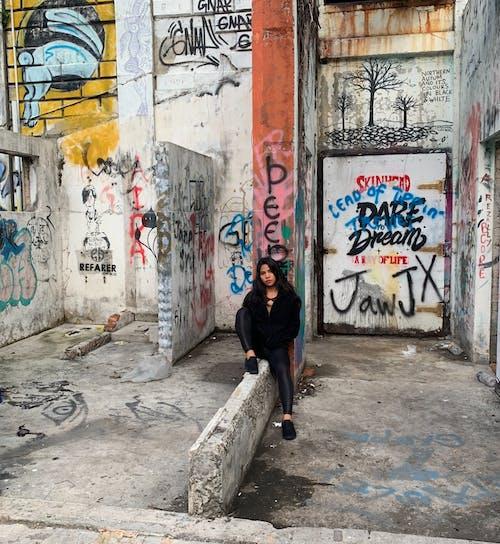シティ, ストリートアート, 破壊行為, 通りの無料の写真素材