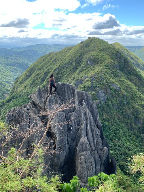 Free stock photo of adrenaline, adventure, climbing, heights