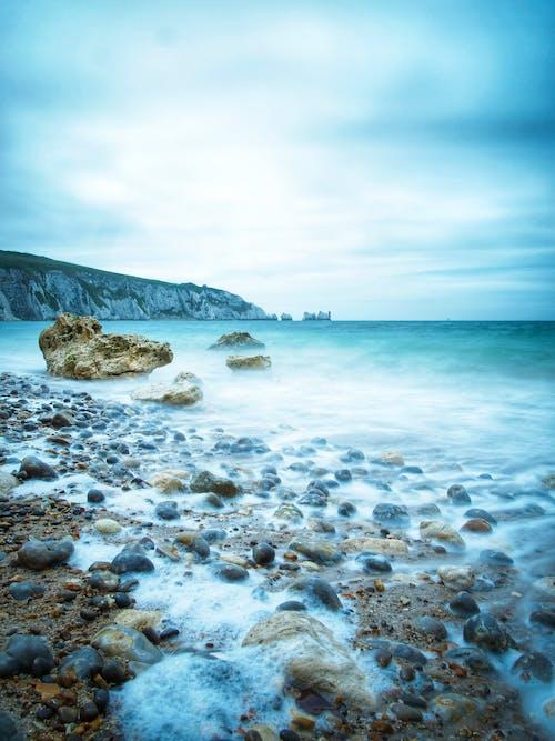 景觀, 柔滑的水, 针, 長時間曝光 的 免费素材照片
