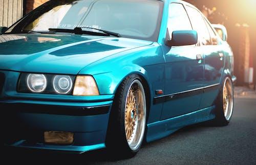 Free stock photo of angel eyes, blue, BMW, E36