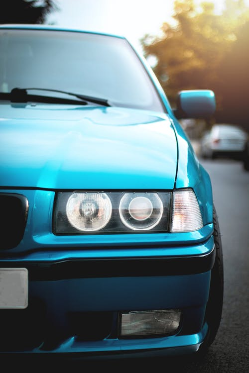 Free stock photo of angel eyes, BMW, E36, old