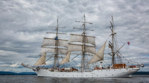 Free stock photo of sailing ship