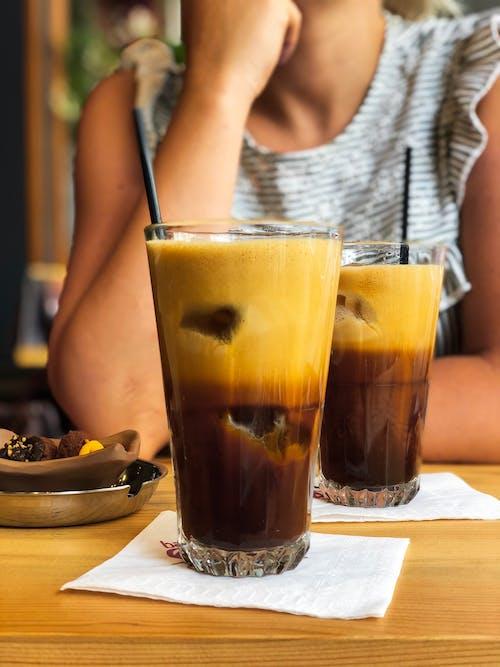 Free stock photo of black coffee, brewed coffee, coffee cup